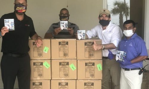 Clinics Can Help Receives 10K Face Masks from Advance Auto Parts